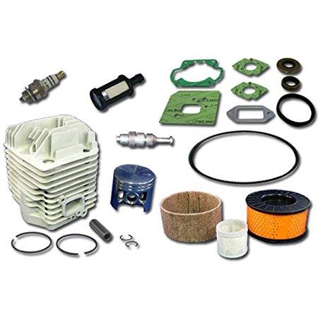 Stihl TS460 Concrete Saw Rebuild Kit Includes Cylinder Piston Gasket Set Spark Plug Filter Belt Decompression Valve