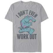 Monsters Inc Men's Sulley I Don't Work Out T-Shirt