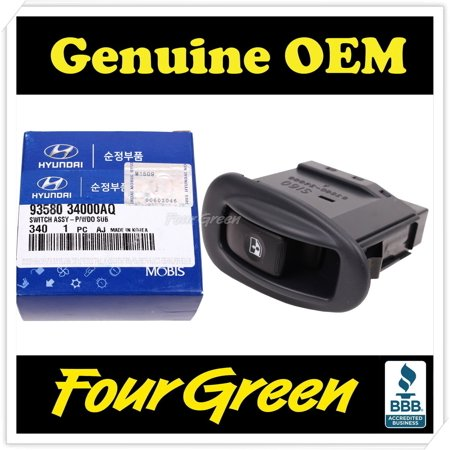 Genuine Switch Assy - Power Window SUB for Hyundai 95-96 Sonata [9358034000AQ]