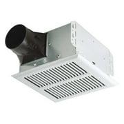 BROAN A80HD Bathroom Fan,80 cfm,0.4A,Horizontal G2272886