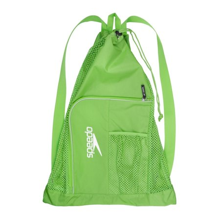 Speedo Swim Deluxe Ventilator Mesh Pool Gear Swimming Bag Jasmine Green, 24x17 Sized Equipment Bag Designed To Carry All Your Swimming Essentials..., By Unknown