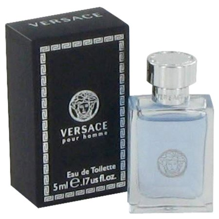 (3 Pack) Versace Pour Homme Mini EDT By Versace 0.17 oz - image 1 of 2