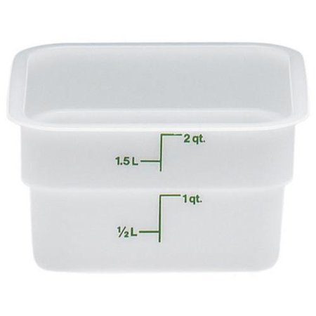 Cambro Poly CamSquare Food Storage Containers - All Sizes Cambro Cold Food Storage Box