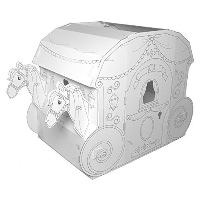 My Very Own House PC5536R Childrens Large Coloring Playhouse ...
