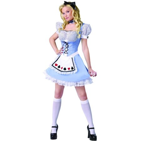 Alice In Wonderland Characters Costumes For Adults (Alice Sexy Adult Costume)