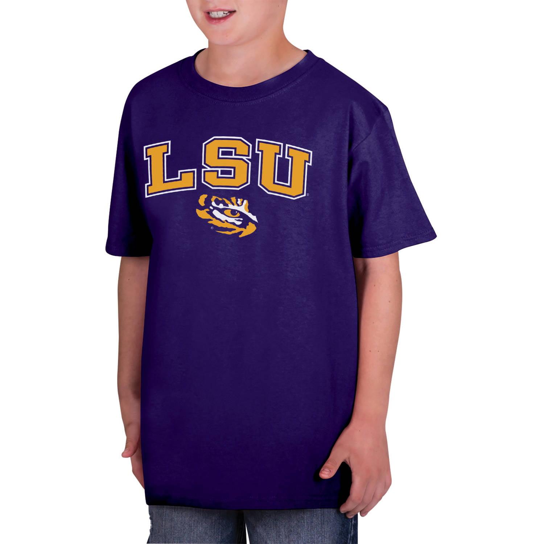 NCAA LSU Tigers Boys Classic Cotton T-Shirt
