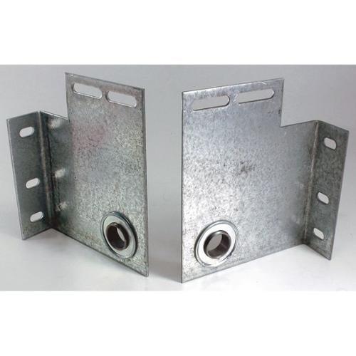 AMERICAN GARAGE DOOR B1-BF500 Bearing End Plate, 11 Ga, 5 In, PR
