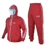 ARD CHAMPS™ Fleece Tracksuit Hoodie Trouser MMA Gym Boxing Running Jogging Suit Color Royal Blue, Size Small