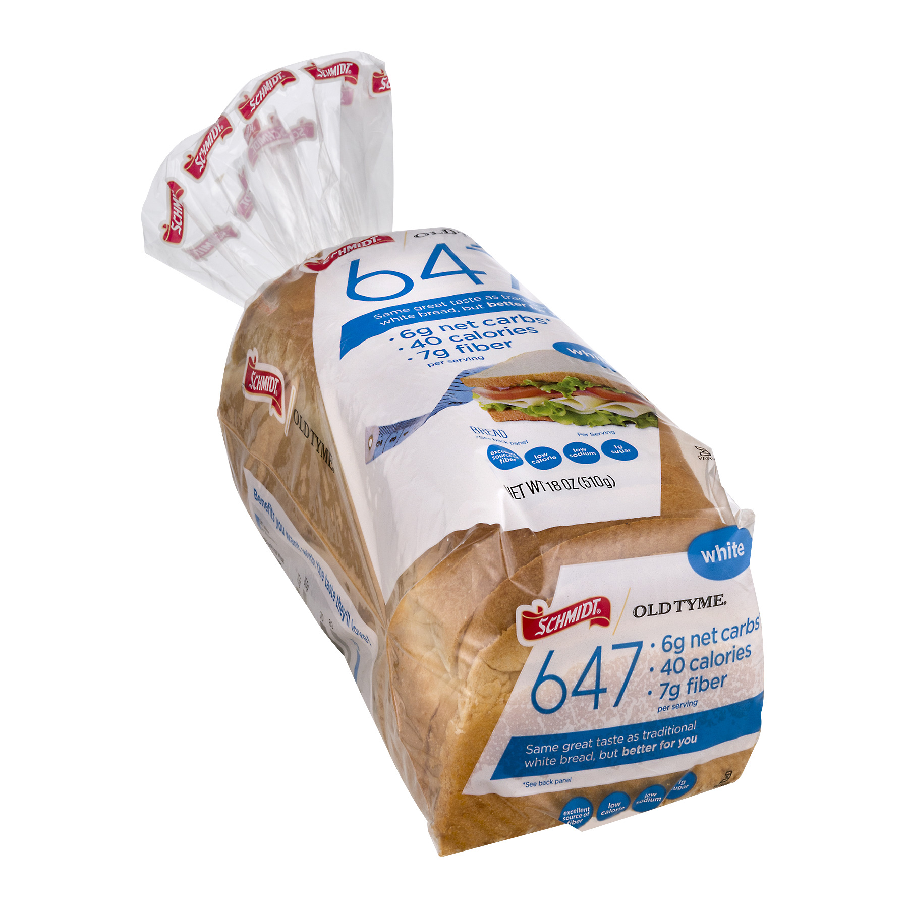 Schmidt Old Tyme 647 White Bread 18 oz - Walmart com