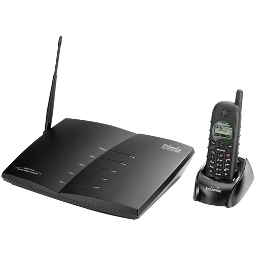 EnGenius DuraFonPro Long-Range Multi-Line Expandable Cordless Phone System