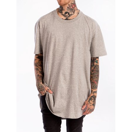 6d144735c B.Q Men's Premium Scoop Tee In Heather | Walmart Canada