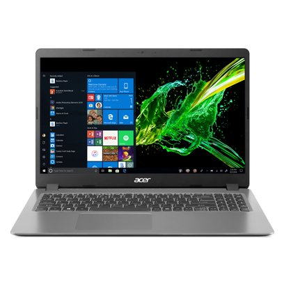 Acer Aspire 3 A315-56-594W 15.6″ Laptop, 10th Gen Core i5, 8GB RAM, 256GB SSD