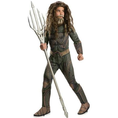 Halloween Aquaman Deluxe Child - Aquaman Costumes