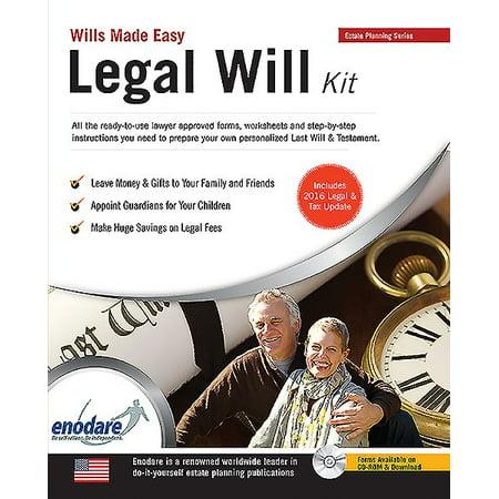 Legal will kit walmart legal will kit solutioingenieria Images