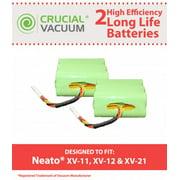 2 Neato XV Batteries, Part # 945-0005
