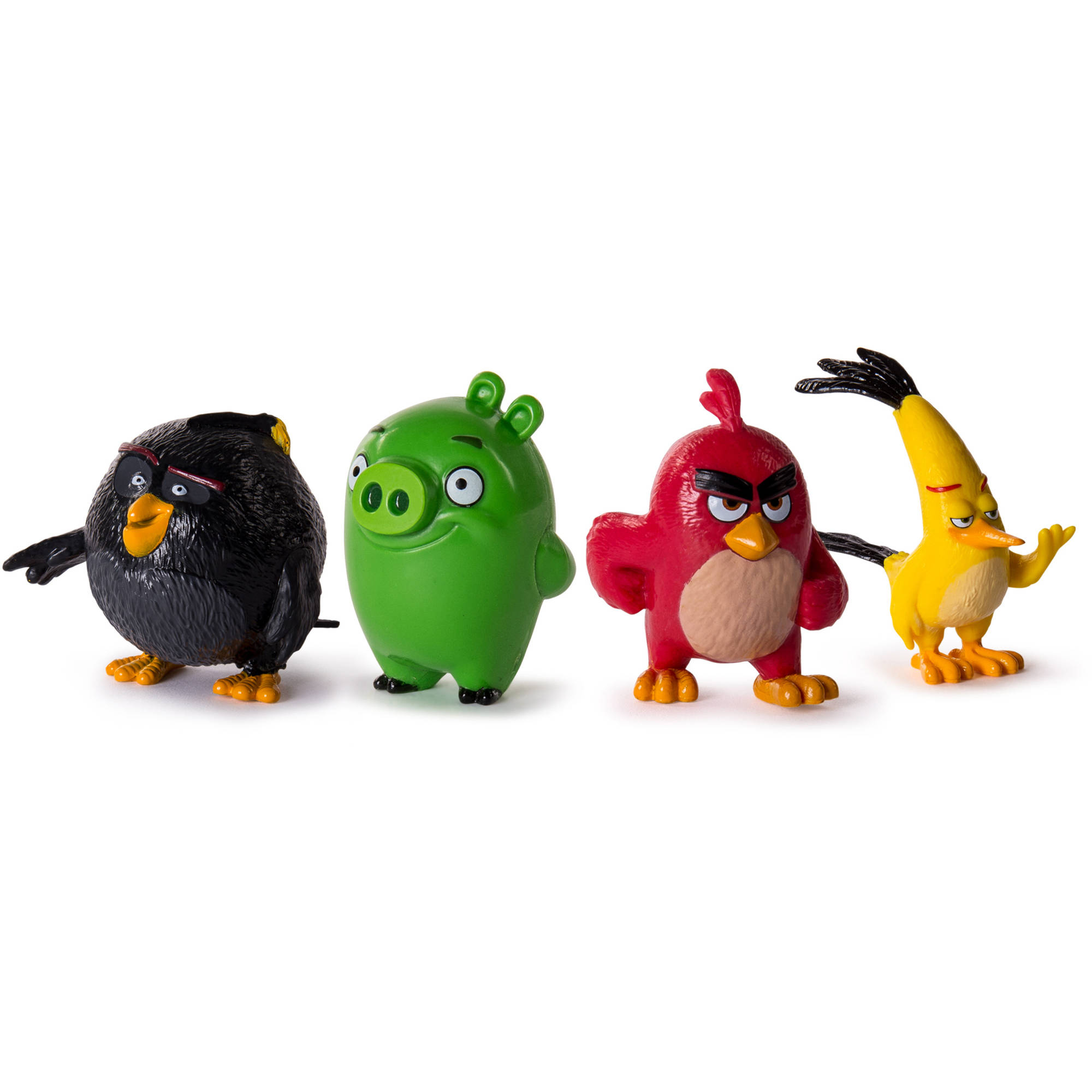 Angry Birds Collectible Figures, 4pk