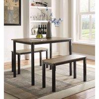 4D Concepts Boltzero 3 Piece Dining Table Set