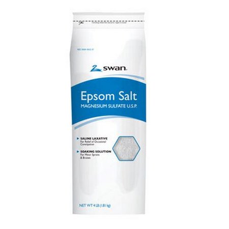 Swan 1000036843 Epsom Salt  4 Lb