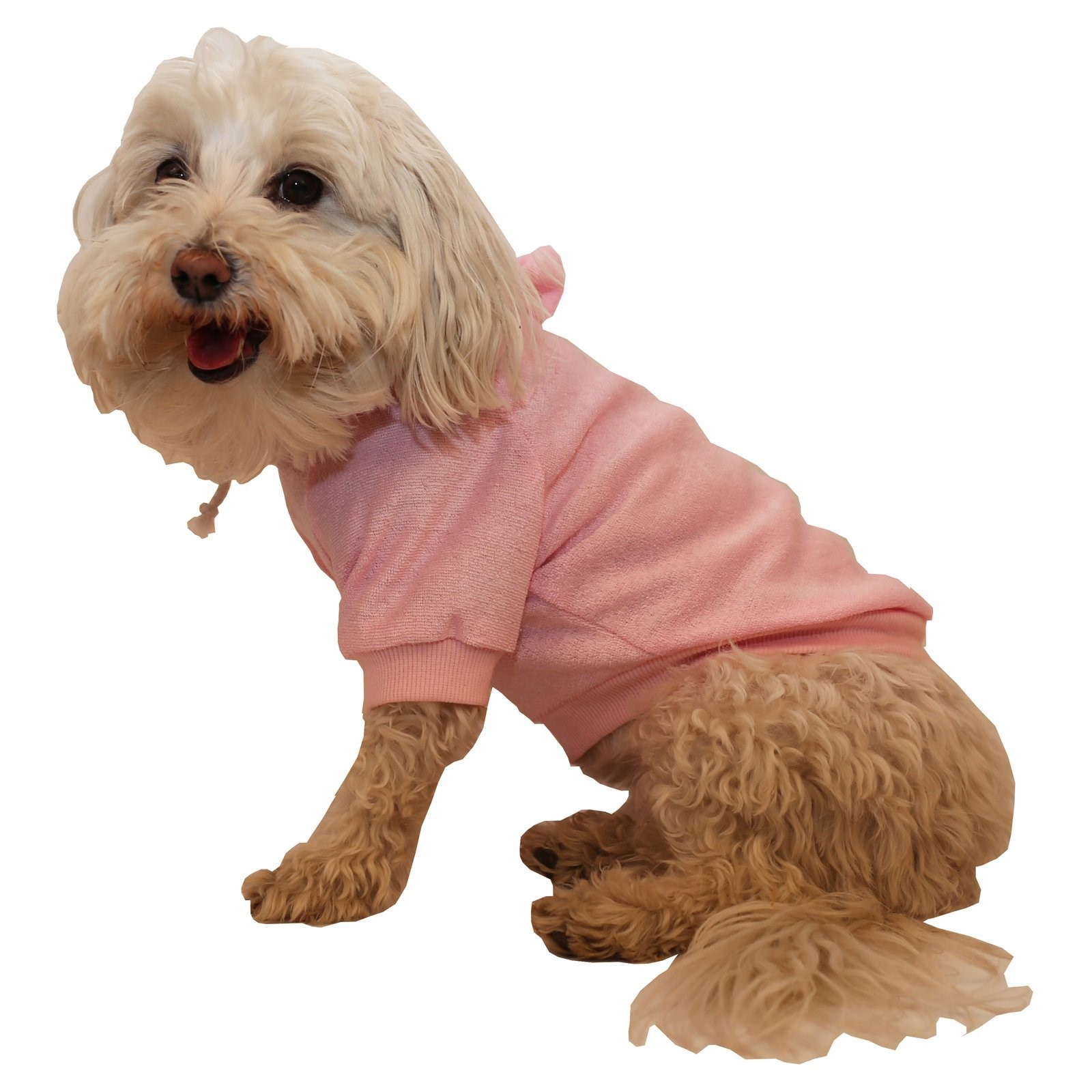 Pet Life French Terry Pet Hoodie Hooded Sweater