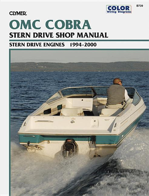 Clymer Color Wiring Diagrams  Omc Cobra Stern Drive Shop