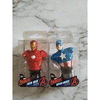 Avengers Iron Man and Captain America Paper Weights