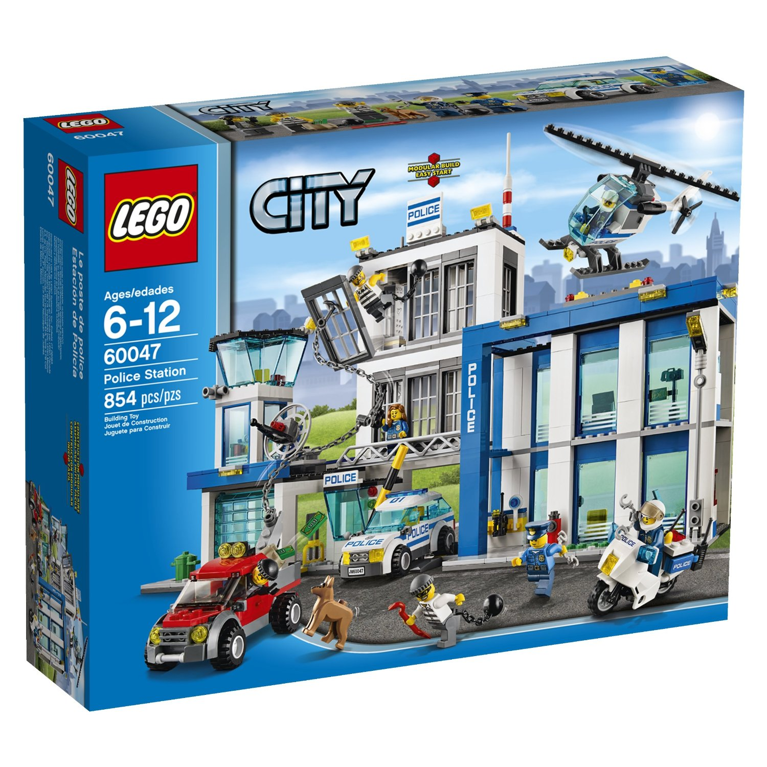 LEGO City Police Station Building Set