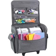 Best Premier Rolling Machines - Everything Mary Sewing Machine Rolling Case, Grey Heather Review