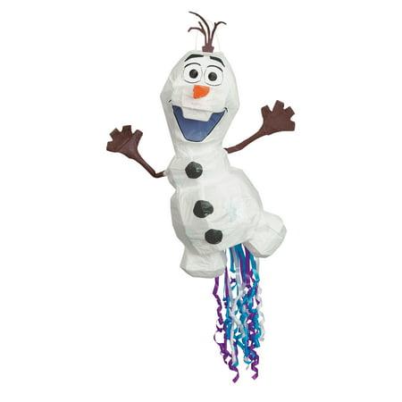 Olaf Disney Frozen 2 Pinata, Pull String, 13in x 22in Disney Tinkerbell Pinata