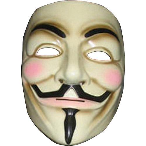 V for Vendetta Mask Adult Halloween Accessory