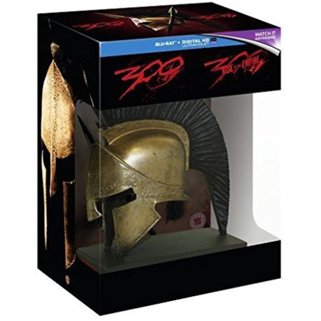 Spartan Funny (300 / 300: Rise of an Empire Collection - 3-Disc Box Set with Spartan Helmet Resin Statue ( Three Hundred / Three Hundred: Rise of an Empire ) (3D &)
