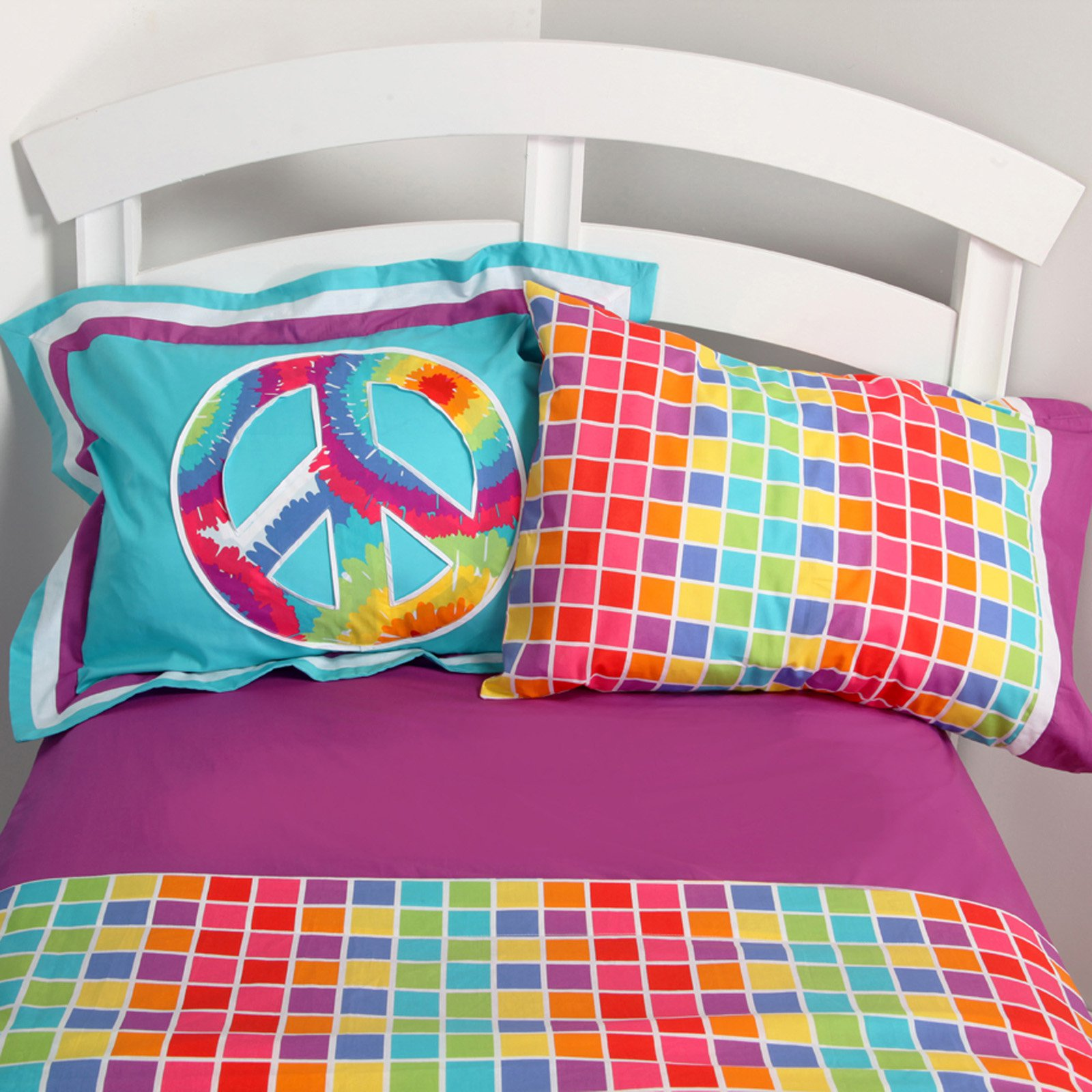 Terrific Tie Dye Sheet Set Walmartcom