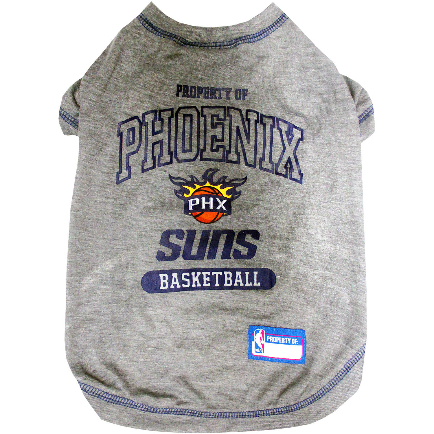 Pets First NBA Phoenix Suns Pet T-shirt, Assorted Sizes