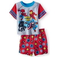 The Avengers Short sleeve shirt & shorts, 2pc pajama set (toddler boys)
