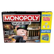 Monopoly Game: Cheaters Edition Board Game Value Pack - Exclusively Sold at Walmart