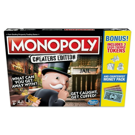 Monopoly Game: Cheaters Edition Board Game Value Pack - Exclusively Sold at Walmart Monopoly Philadelphia Eagles Toy