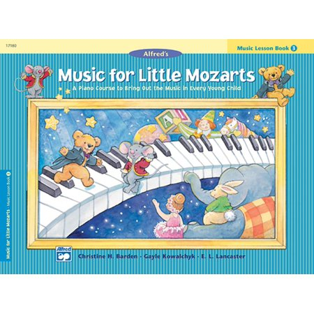 Music for Little Mozarts: Music for Little Mozarts Music Lesson Book, Bk 3: A Piano Course to Bring Out the Music in Every Young Child (Paperback) (Halloween Music Lessons)