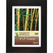 Glolite Nu-dell, NUD14157, NuDell Earth Friendly Bamboo Frames, 1 Each, Black,Clear Cover