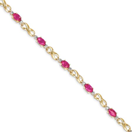 rg women ruby bracelets twsit diamond jewelry gold rose red with bracelet twist in gemstone nl gs for