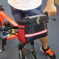 Tube Frame Bag,Ymiko 4Colors Waterproof Outdoor Cycling Bicycle Front Frame Phone Bag Bike Handlebar Case