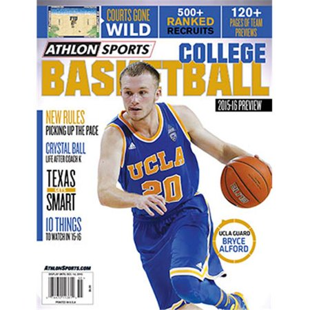 Athlon Ctbl 018002 2015 16 Sports College Basketball Magazine Preview   Ucla Bruins Cover