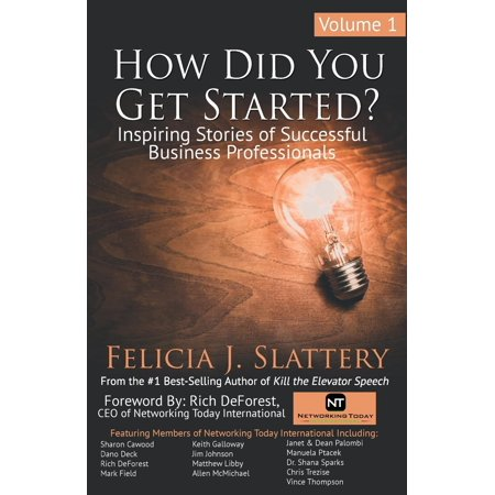How Did You Get Started, Volume 1: Inspiring Stories of Successful Business Professionals - Year Did Halloween Start