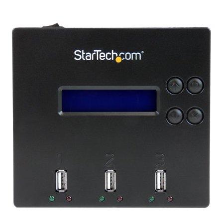 StarTech.com 1:2 Standalone USB 2.0 Flash Drive Duplicator and Eraser - USB Stick Duplicator - Flash Drive Copier - USB Flash Drive Eraser