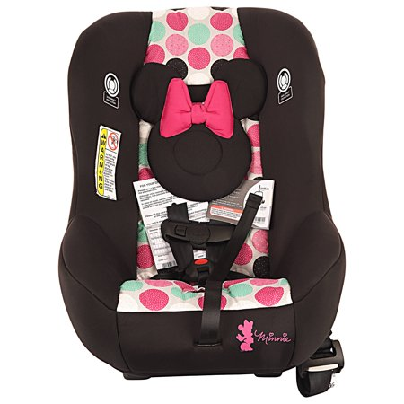 Disney Baby Scenera Next Luxe Convertible Car Seat Minnie Mouse