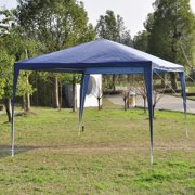 Outdoor Tent Canopy Gazebo, 10 x 10 (Blue)