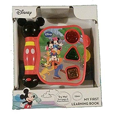 mickey mouse clubhouse, mickey's my first learning book lights and