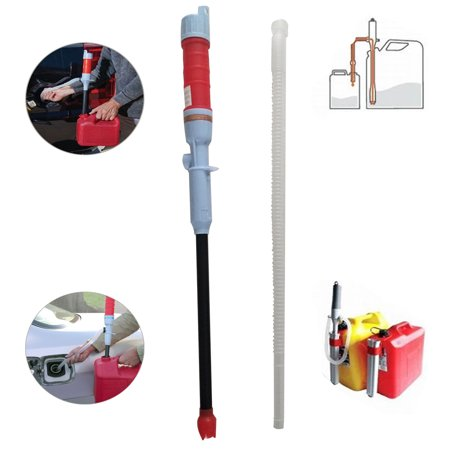 Zimtown Electric Battery Operated Powered Liquid Transfer Siphon Pump, Multi-Use Hand Fuel Pump, with Bendable Suction Tube, for Petrol, Gas, Water, Oil, Solvent and More,