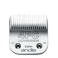 Andis UltraEdge Detachable Blade Set, Size 4FC, 3/8 Inches, 9.5 mm