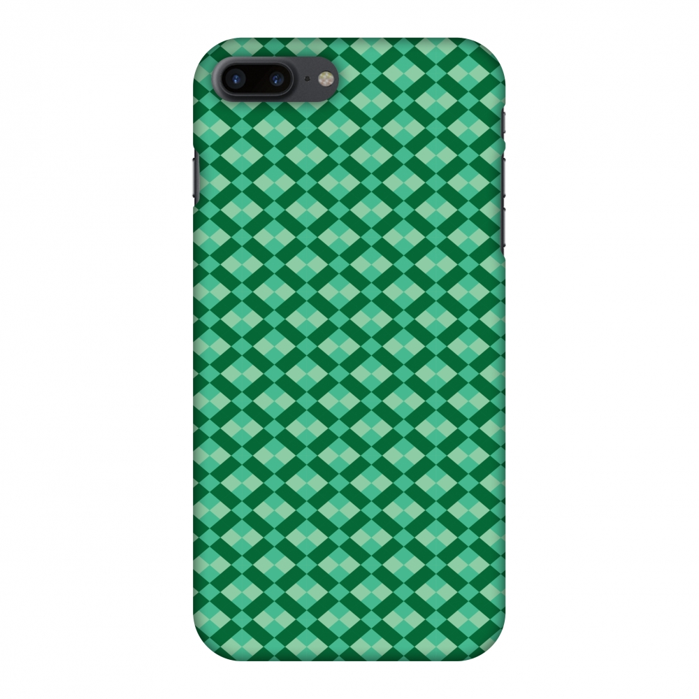 iPhone 8 Plus Case - Bold Stripes 1, Hard Plastic Back Cover. Slim Profile Cute Printed Designer Snap on Case with Screen Cleaning Kit