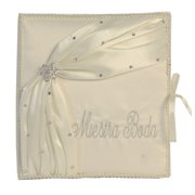 Angels Garment Ivory Sash Rhinestone Accents Wedding Photo Album