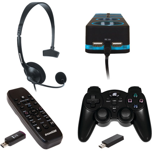 PS3 Accessories 4-in-1 Ultimate Bundle